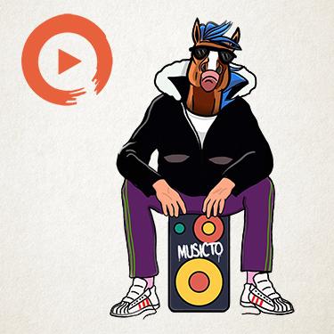 Music to Shake a Hoof Playlist Home Page